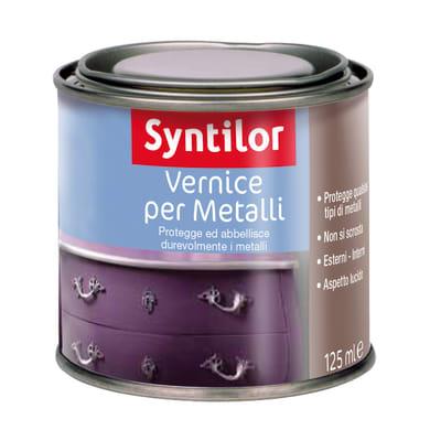 Vernice  SYNTILOR per metalli incolore 0.125 L