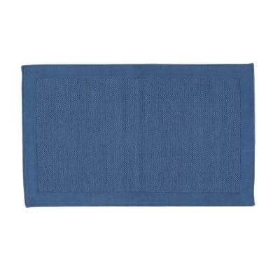 Scendiletto Unito in cotone, blu, 55x150 cm