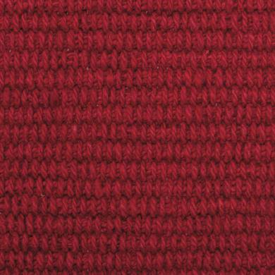 Tappeto Basick in ciniglia, rosso, 6.5x42 cm