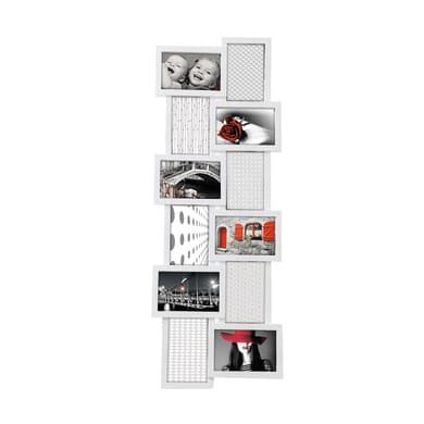 Cornice Tower per 12 fotografie 10 x 15 bianco