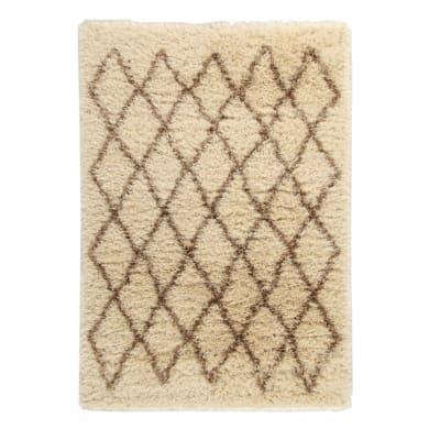 Tappeto Beni ourain beige 200x290 cm