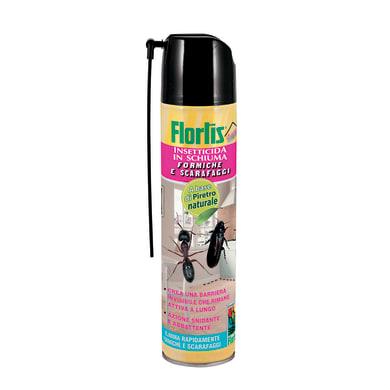 Insetticida schiuma FLORTIS Scarafaggi e formiche 400