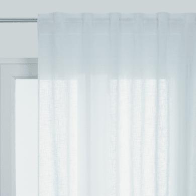 Tenda Aspect lin bianco passanti nascosti 145 x 300 cm