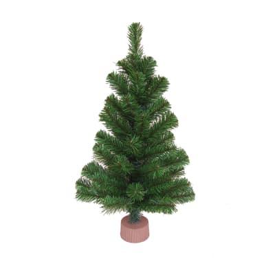 Albero di Natale artificiale Colorado verde scuro H 60 cm
