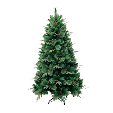 Albero di natale artificiale Cortina verde H 180 cm