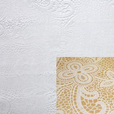 Tovaglia INSPIRE Cristallo pizzo bianco 140x220 cm