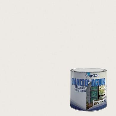 Smalto GECKOS base acqua grigio scuro 0.5 L