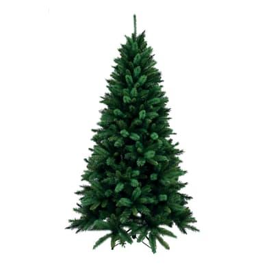Albero di natale artificiale Livigno verde H 180 cm,