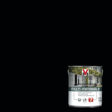 Smalto V33 base solvente nero ral 9005 2.5 L