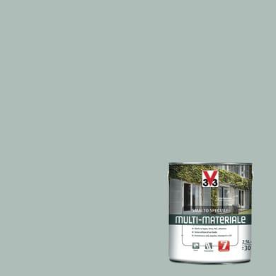 Smalto V33 base solvente grigio metallizato 0.5 L