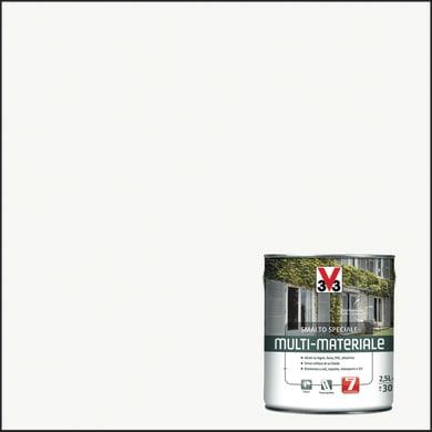 Smalto V33 base solvente bianco ral 9016 0.5 L