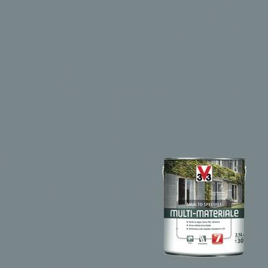 Smalto V33 base solvente grigio ral 7045 0.5 L