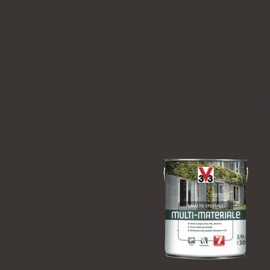 Smalto V33 base solvente marrone 0.5 L