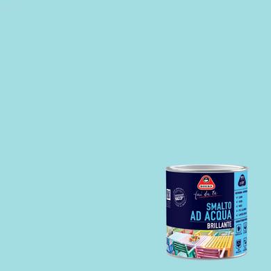 Smalto BOERO FAI DA TE base acqua blu celeste 0.5 L
