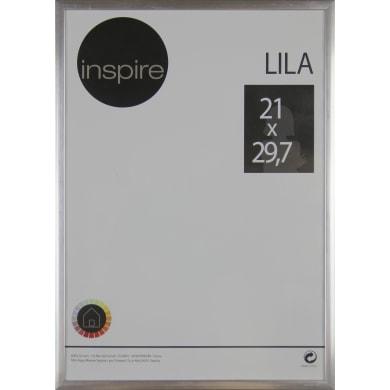Cornice INSPIRE Lila argento per foto da 21x29.7 (A4) cm