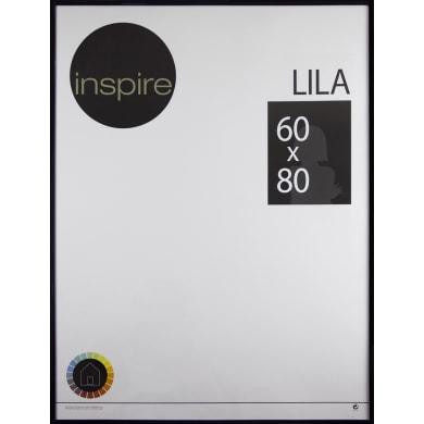 Cornice INSPIRE Lila nero per foto da 60x80 cm