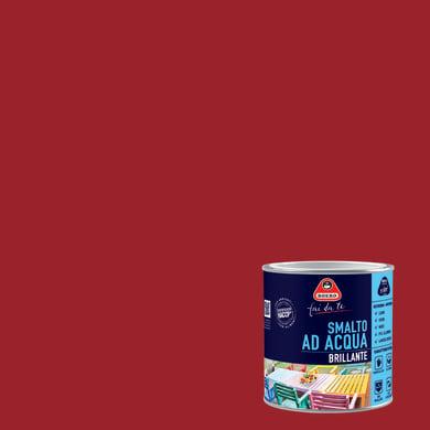 Smalto BOERO FAI DA TE base acqua rosso oriente 0.5 L