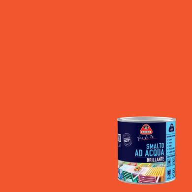 Smalto BOERO FAI DA TE base acqua arancio zucca 0.5 L