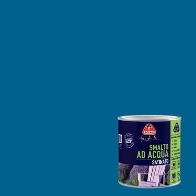 Smalto BOERO FAI DA TE base acqua blu zafiro 0.5 L