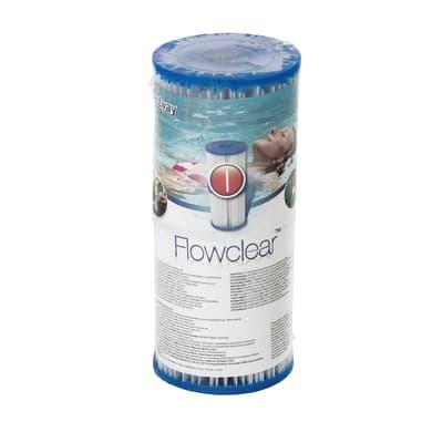 Cartuccia per filtro piscina BESTWAY Ø 8 cm Flowclear Tipo I
