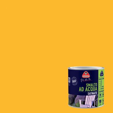 Smalto BOERO FAI DA TE base acqua giallo caldo 0.5 L