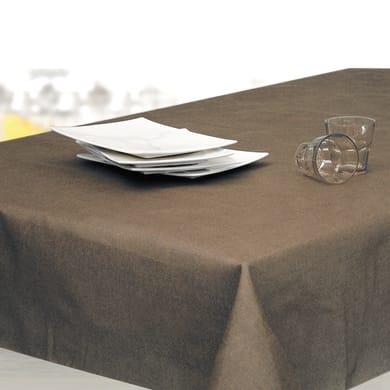 Tovaglia Monaco marrone 160x160 cm