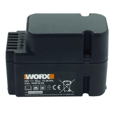 Batteria WORX in litio (li-ion) 28 V 2 Ah