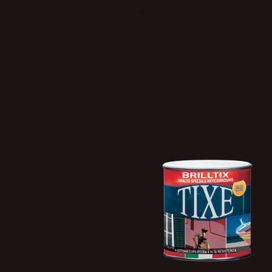 Smalto TIXE Brillante base solvente marrone 0.5 L