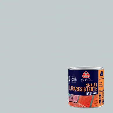 Smalto BOERO FAI DA TE base solvente grigio artico 0.5 L