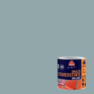 Smalto BOERO FAI DA TE base solvente grigio antico 2 L