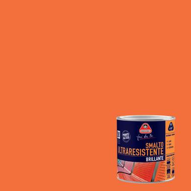 Smalto BOERO FAI DA TE base solvente arancio 0.5 L