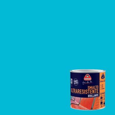 Smalto BOERO FAI DA TE base solvente blu cielo 0.5 L