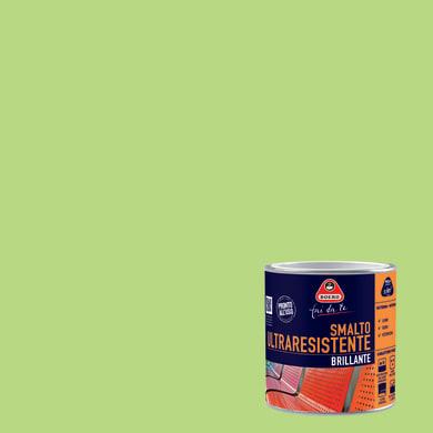 Smalto BOERO FAI DA TE base solvente verde mela 0.5 L