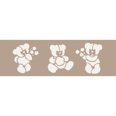 Stencil tema geometrici Teddy bear 15 x 40 cm