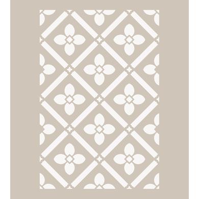 Stencil tema geometrici Fiori e rombi 40 x 60 cm
