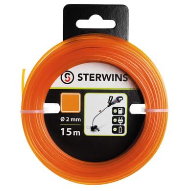 Bobina di filo STERWINS per decespugliatore L 15 m Ø 2 mm