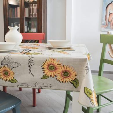 Tovaglia Girasole multicolore 120x120 cm