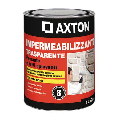 Impermeabilizzante AXTON Trasparente per tetto / parete 1 L