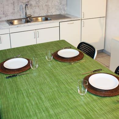 Tovaglia INSPIRE Finto tessuto verde 140x160 cm