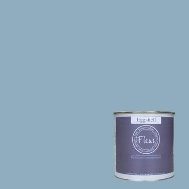 Smalto FLEUR EGGSHELL base acqua azzurro good morning oslo satinato 0.75 L