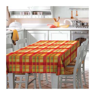 Tovaglia INSPIRE Quadrotti giallo 140x220 cm