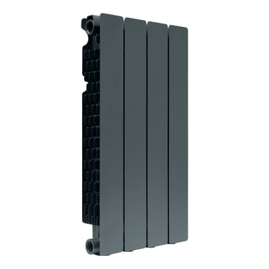 Radiatore acqua calda PRODIGE Modern in alluminio 4 elementi interasse 60 cm