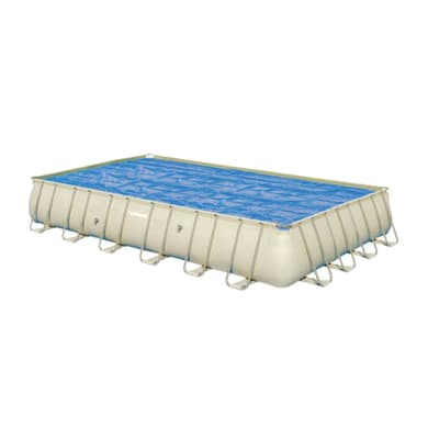 Copertura per piscina invernale BESTWAY in polietilene 366 x 703 cm