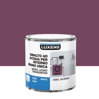 Vernice di finitura LUXENS Manounica base acqua rosa candy 2 opaco 0.5 L