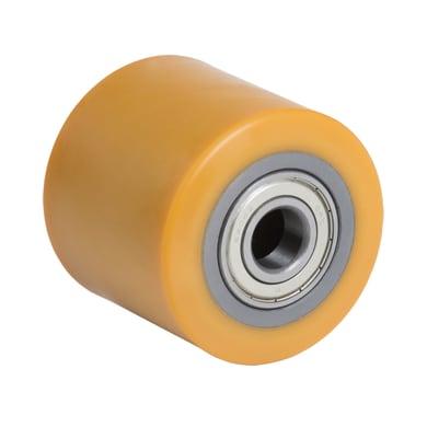 Ruota TELLURE in poliuretano giallo Ø 85 cm