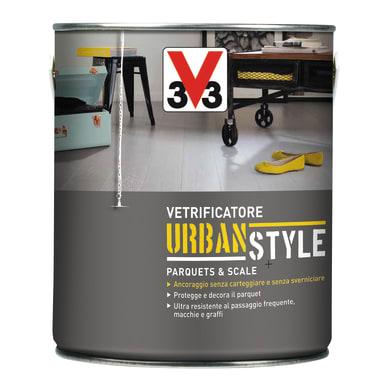 Vetrificatore per parquet V33 Urban Style zinco satinato 0.75 L