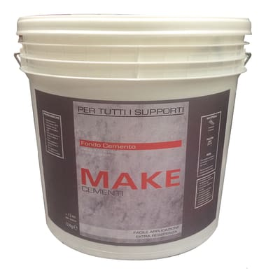 Fondo/primer per effetto decorativo MAKE Cemento 12 kg