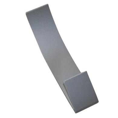 Appendiabiti in metallo 2 ganci cromo