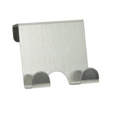 Appendiabiti 70683 in acciaio 2 ganci inox