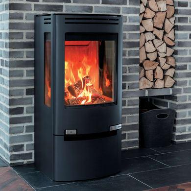 Stufa a legna Aduro 7-2 7 kW nero